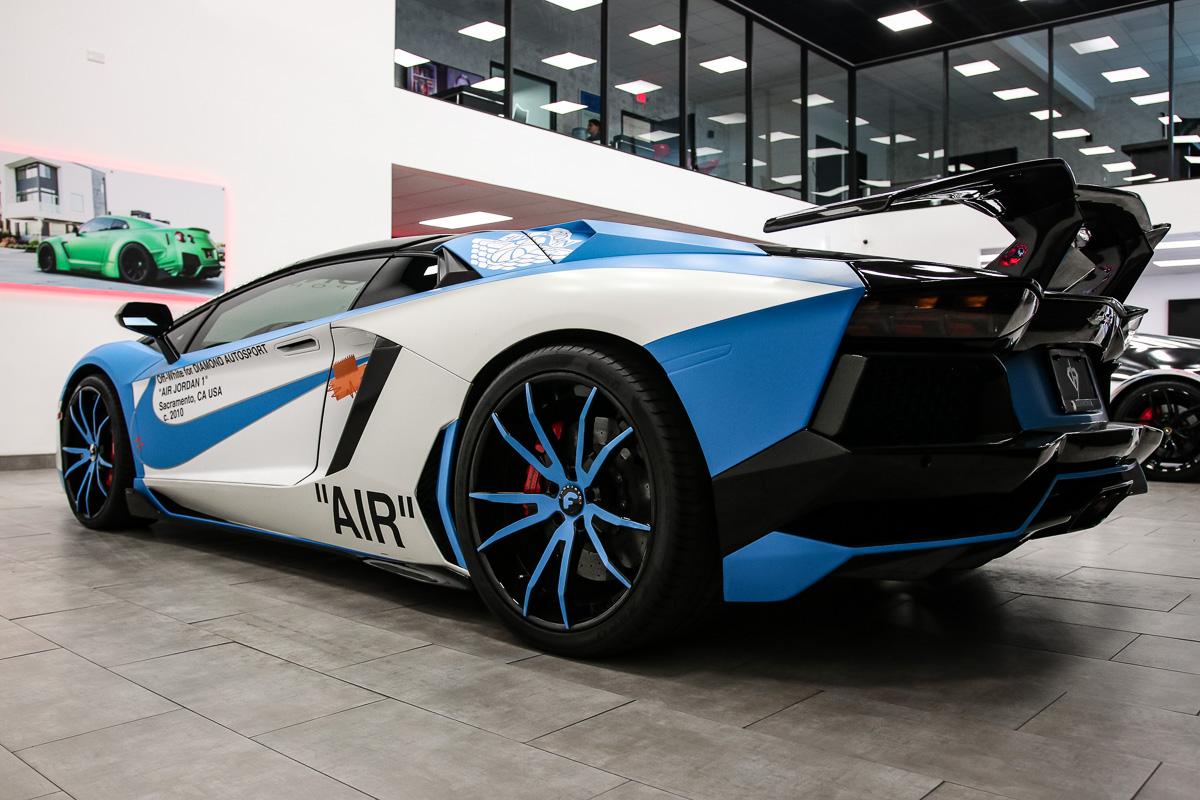 OFF-WHITE Lamborghini Aventador - Diamond Autosport